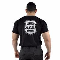 Camiseta Estampada Estado Civil Solteiro - Original