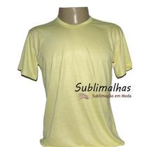 Camisa Para Sublimação Colorida - 100% Poliéster