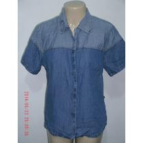 Linda Camisa Jeans Via Vergé ( Fem) Tam: 42 R$ 40,00