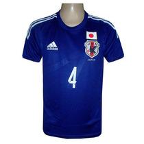 Camisa Adidas Seleção Japão Azul ( Honda )