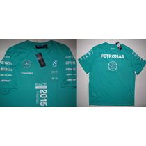 Camisa Mercedes Petronas Amg Race Winner Hugo Boss Fórmula 1