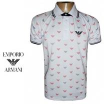 Camisa Polo Giorgio Armani (frete Gratis)