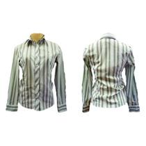Camisa Feminina Social Jacaré #moda #brecho #brechodacris