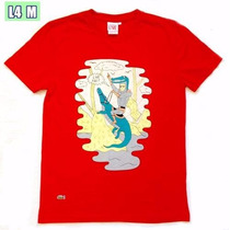 Camisa Camiseta Masculina Lacoste Original Varias Cores
