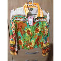 Camisa Feminina Farm - Tamanho M - Nova Na Etiqueta