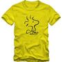 Woodstock Camiseta Tradicional T-shirt Algodão 30.1 Silk