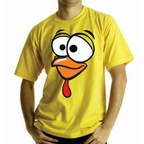 Camiseta Pintinho Amarelinho Galinha Pintadinha