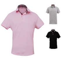 Camisa Polo Casual Social Slim Fit - Pronta Entrega