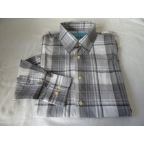 Camisa London Rock Plaid Collection Manga Longa.tam.2