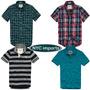 Camiseta Camisa Polo Abercrombie E Hollister 100% Originais