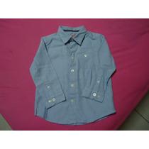 Infantil-camisa Masculina Xadrez Mangas Longas-seminova