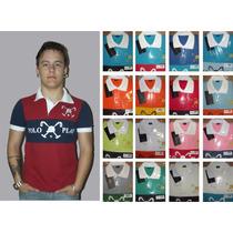 Roupas Para Revender 10 Camisas Polos Luxo, Grandes Marcas