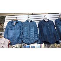 Camisão Jeans Feminino Estampado