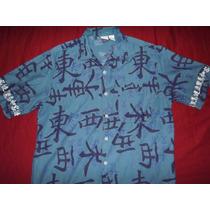 Camisa Utility Samurai Letras Japonês Japão Gg Xg 76cmx 56cm