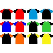 Camisa Sublimação Raglan