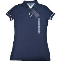 Camiseta Polo Sem Botão Tommy Hilfiger Feminina