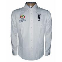 Camisa Social Ralph Lauren Sport Masculina