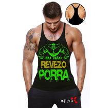 Regata Super Cavada Animal Musculação Bodybuilding