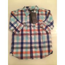 Camisa Infantil Tommy Hilfiger Original - 3t ( Cor Da Foto )