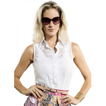 Camisa Regata Transparente Principessa Luciana