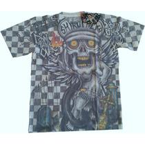 Camisa Minute Mirth Rock Skate Punk Hip Hop Tatuagem Tam. G