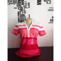 Camisa Polotommy Hilfiger Rosa Tam P #2021 Camiseta Regata