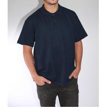 Camisa Polo - Piquet - Azul Marinho -