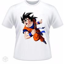 Camisa Infantil Dragon Ball - Goku Vários Modelos
