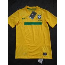 Seleção Brasileira Nike Dri Fit Autêntica Tamanho 10