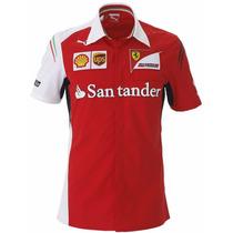 Camisa Puma Polo Ferrari Sf Team - 761461 01