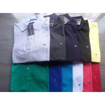 Camisa Gola Polo Tommy Cores Varidas