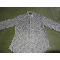 Camisa John Varvatos Converse C/ Botões G/l - 100% Autêntica