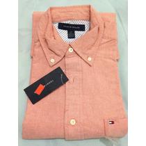 Camisa Social Tommy Hilfiger Tamanho Gg Xl Original Promoção