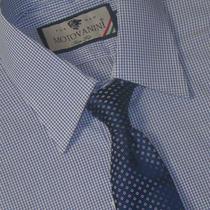 Camisa Social Slim Fit 100% Algodão Fio 50 Extra 51 1002