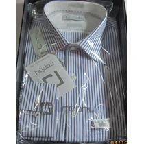1 Camisa Raphy Ref.511522 Tam 42(4)m.longa Classic List Az1