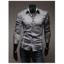 Camisa Social Slim Fit Importada Exclusivas!