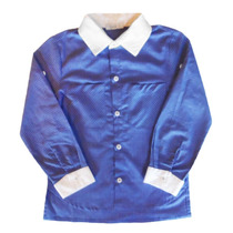 Camisa Manga Longa Azul -tyrol