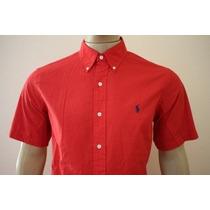 Camisa Manga Curta Classic Fit Polo Ralph Lauren