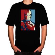 Camisa Super-herói Homem De Ferro Iii