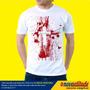 Camisa Evangélica Cruz De Sangue Jesus Cristo