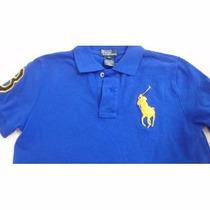 Camisa Polo Ralph Lauren Infantil Nº 6 (4 A 6 Anos)