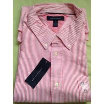 Camisa Social Tommy Hilfiger: Tamanho G L Original Promoção