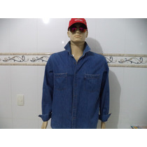 Camisa Manga Longa Jeans Antiga Ustop ( Semi - Nova )