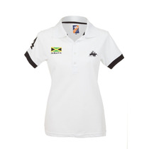Camisa Polo Feminina Jamaica Branca - Club Polo Collection