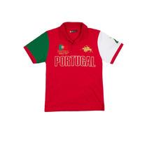 Camisa Polo Infantil Portugal Vermelho- Club Polo Collection