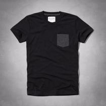 Camisa Abercrombie Original- Brook Pocket Tee- Tamanho M
