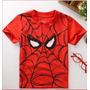 Camisa Menino Homem Aranha - Pronta Entrega