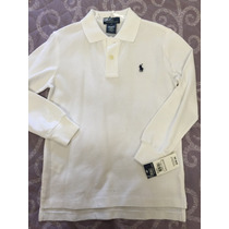 Camiseta Ml Original Polo Ralph Lauren Tam 6 (6 Anos)