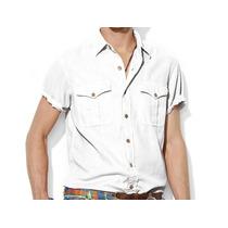 Camisa Polo Ralph Lauren Social Safari - Branca - Tamanho M