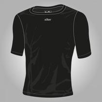 Camisa De Compressão Térmica Manga Curta Siker Segunda Pele